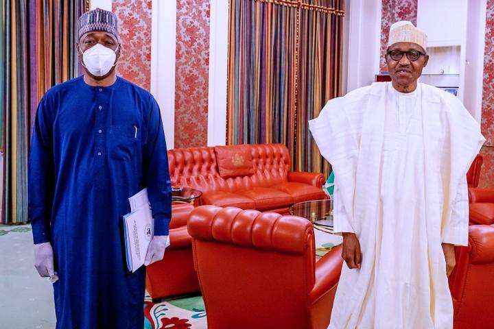 Zulum with President Buhari