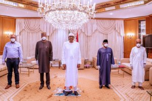 What President Buhari Said After Meeting COVID-19 Task Force