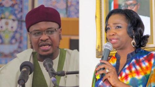 Communication minister, Isa Pantami and Abike Dabiri-Erewa