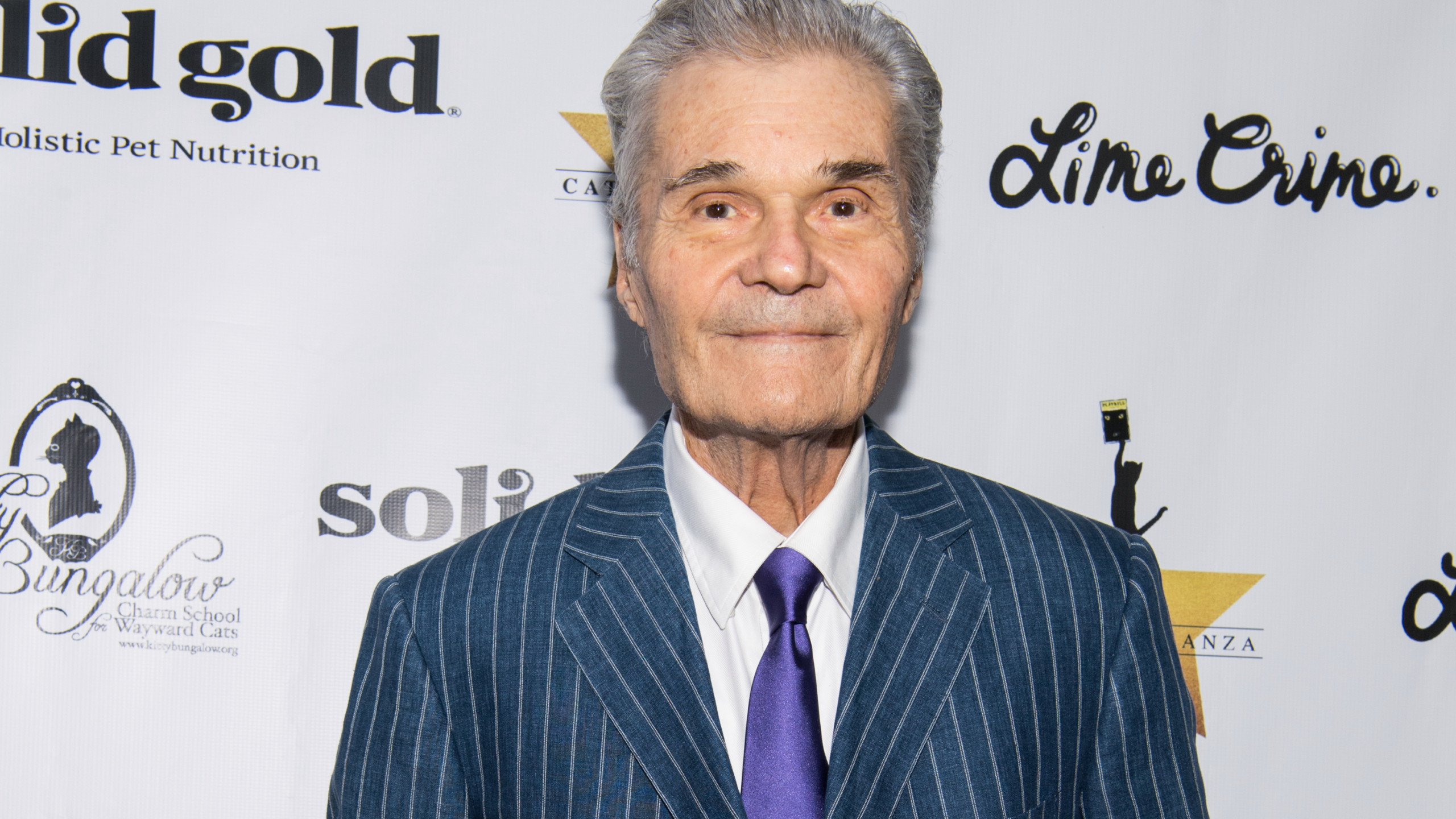 Actor Fred Willard attends 'CATstravaganza featuring Hamilton's Cats' on April 21, 2018 in Hollywood, California. (Photo by Emma McIntyre/Getty Images for Kitty Bungalow)