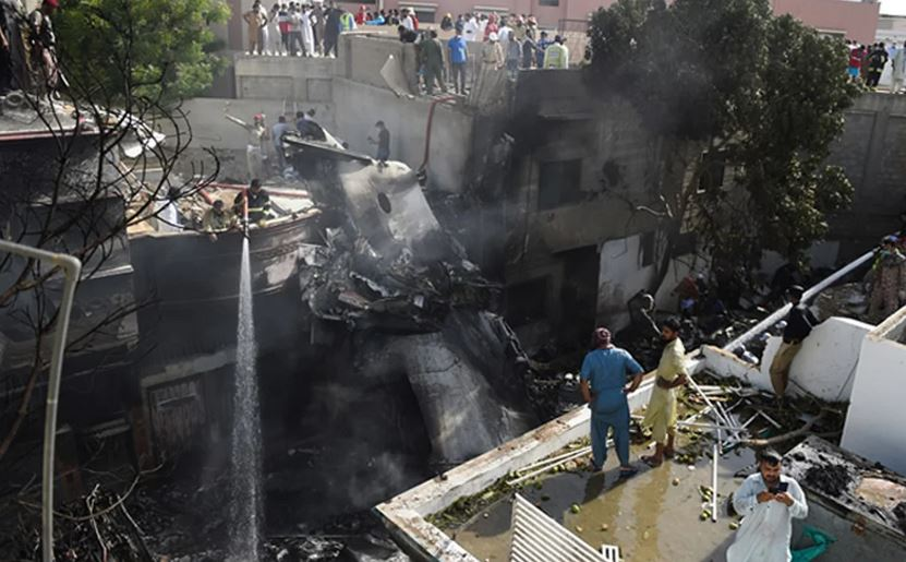 Pakistani plane crash