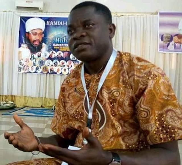 Nollywood actor Gbenga Ajumoko