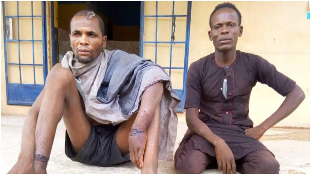 Armed robbers that were apprehended in Jigawa