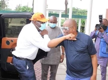 Wike and Obaseki