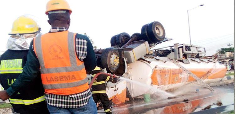 tanker accident