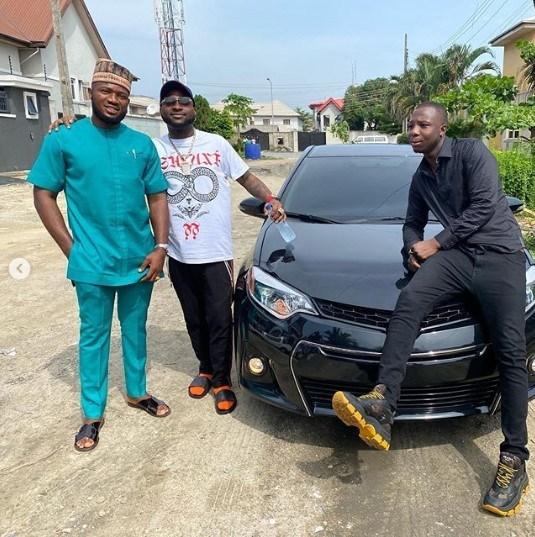 Davido Buys Brand New Car For Member Of His Crew