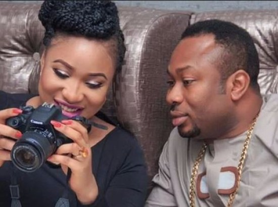 Tonto Dikeh and estranged husband Olakunle Churchill when the going was smooth