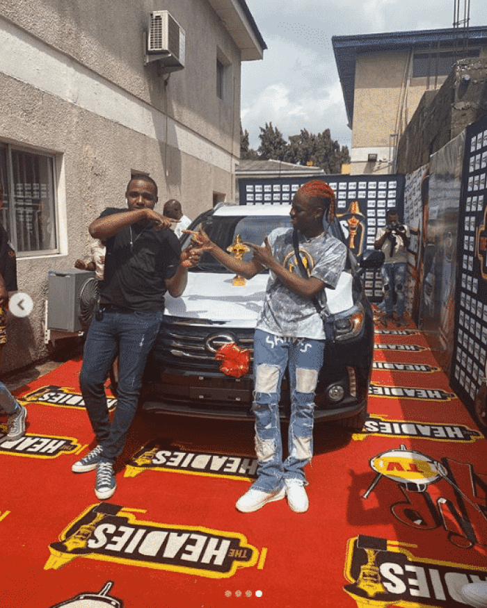 Rema picks up 2019 Headies 'Next Rated' SUV prize