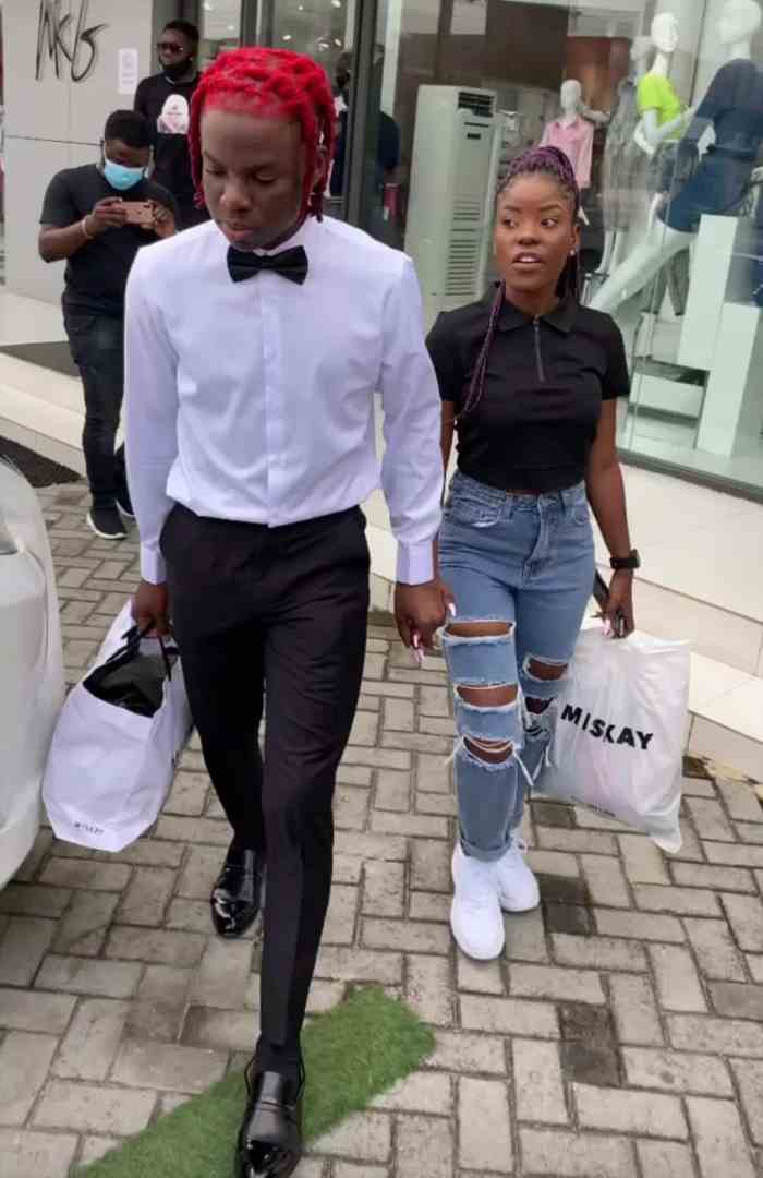 Rema takes Nimie for shopping