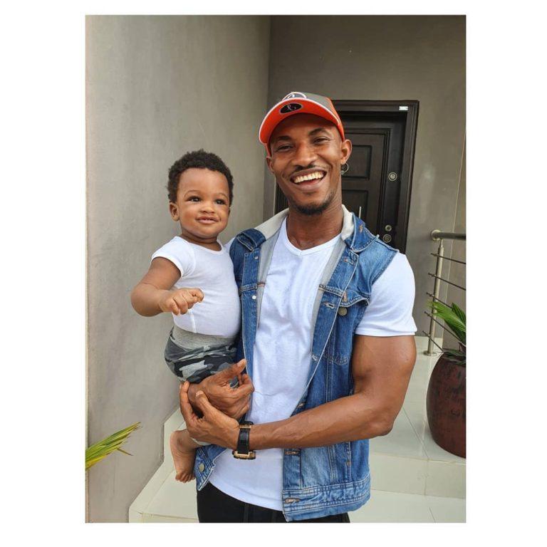 Gideon and his adorable son, Ezra