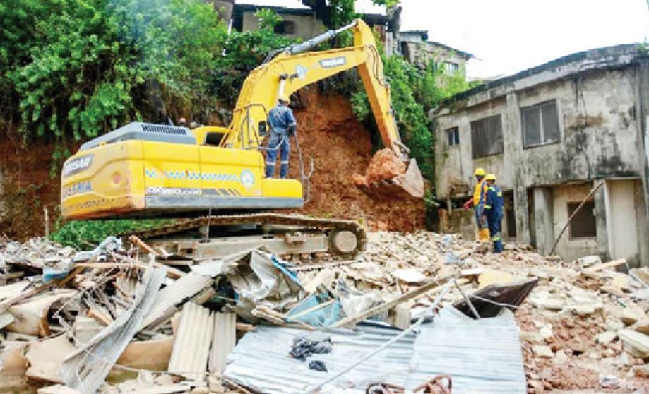 Lagos building collapse