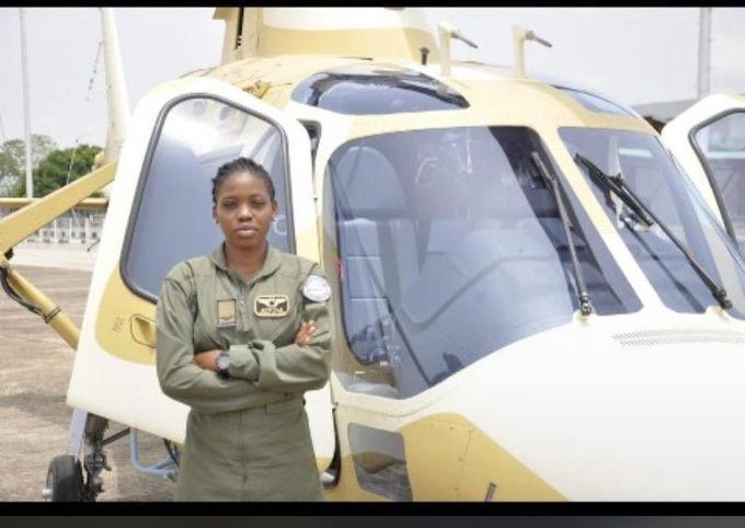 Flying officer Tolulope Arotile