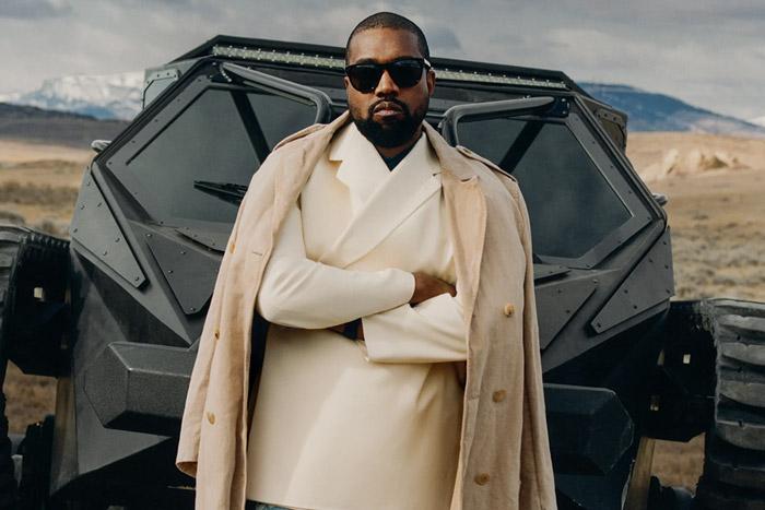Kanye West covers GQ magazine
