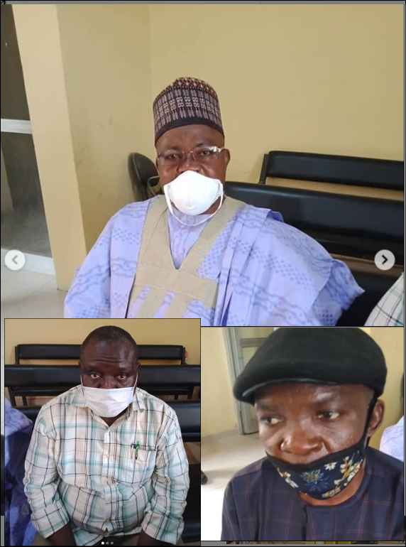 The corrupt officials arraigned by the EFCC