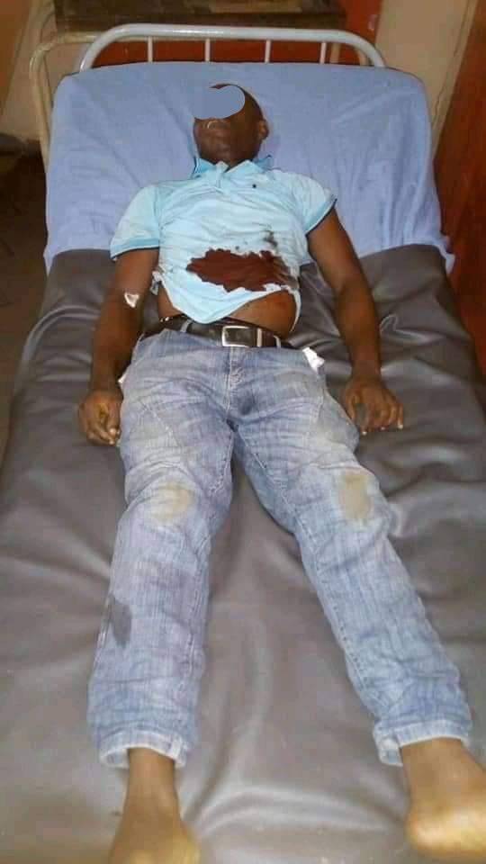 Policeman allegedly shoots