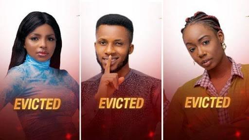 BBNaija: Tolanibaj, Wathoni And BrightO Evicted From Big Brother Naija House 1