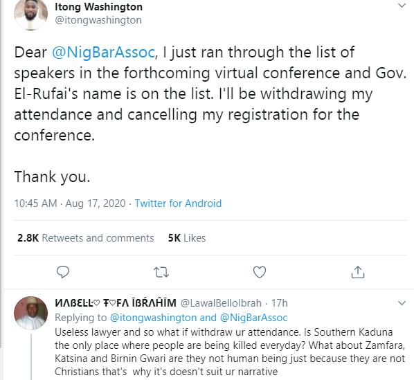 Nigerian lawyers protest