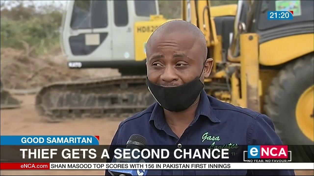 Siya gave the thief a second chance