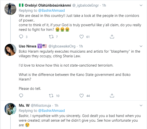 How are you different from Boko Haram - Nigerians react to Buhari
