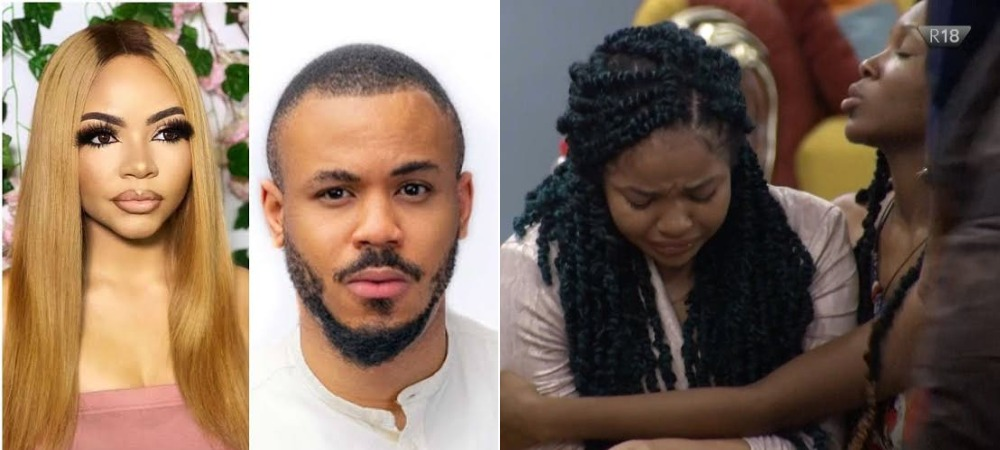 BBNaija: Nengi Breaks Down In Tears As Ozo Ignores Her At All-White Night Party [Video] 1