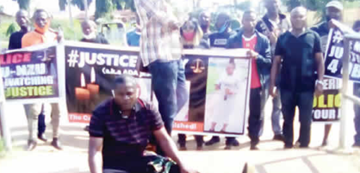 Angry youths protest release of movie director who allegedly killed lady in Delta