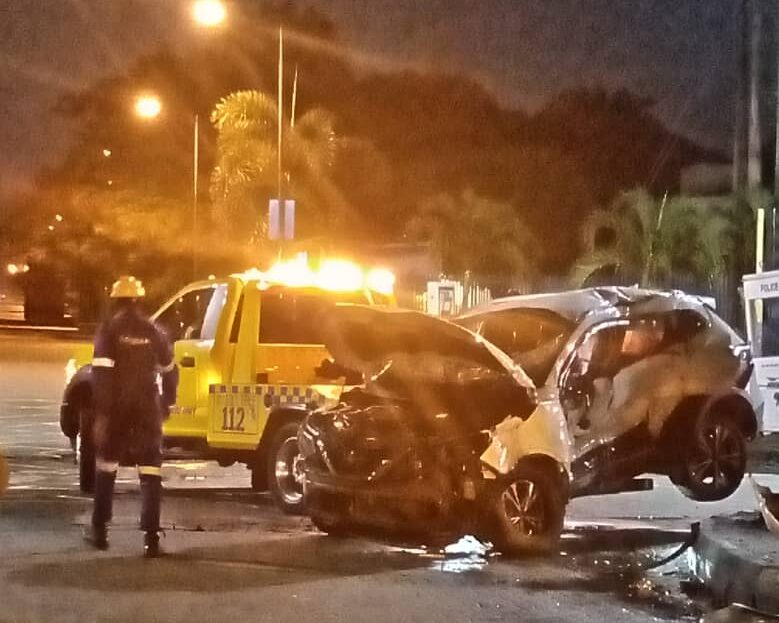 Lagos car crash