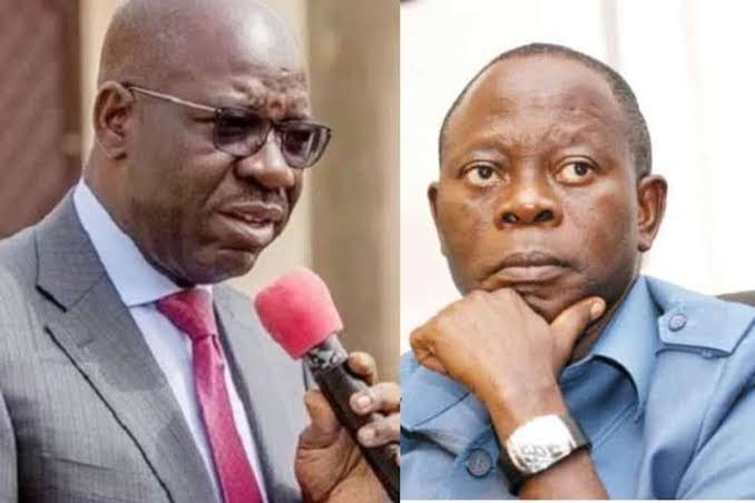 If Oshiomhole Continues To Unleash His Lions, I Will Have No Mercy On Him - Governor Obaseki 1
