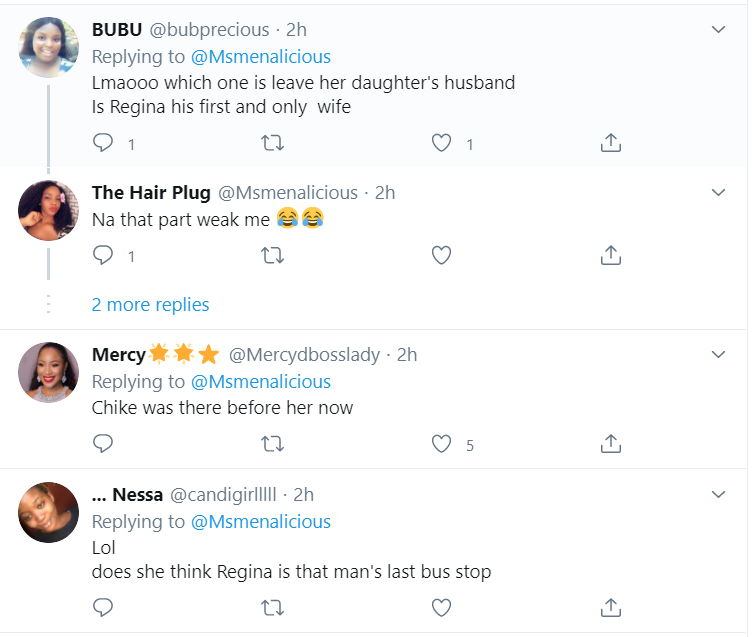 Leave Ned Nwoko For My Daughter – Regina Daniels Mother warns Actress Chika Ike to leave her daughters' husband 12