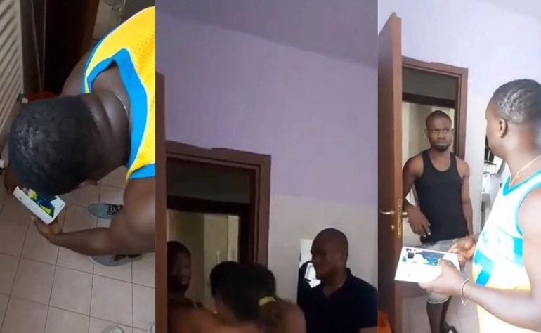 Man Catches His Best Friend Recording His Wife's Nakedness In The Bathroom [Video] 1