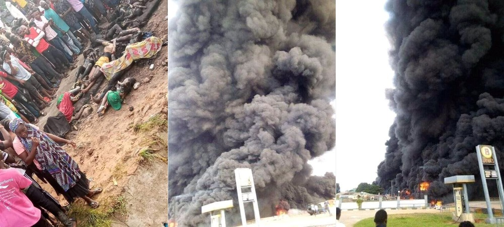 Many Feared Dead Including School Children As Petrol Tanker Explodes In Lokoja, Kogi [Photos/Video] 1