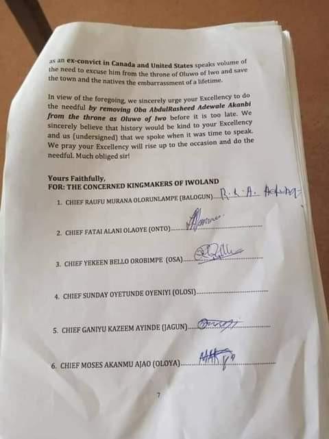 Kingmakers petition