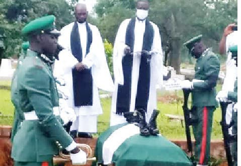 Nigerian Army Buries Soldier Who Was Tortured To Death By 3 Senior Officers At Abuja Barracks 1