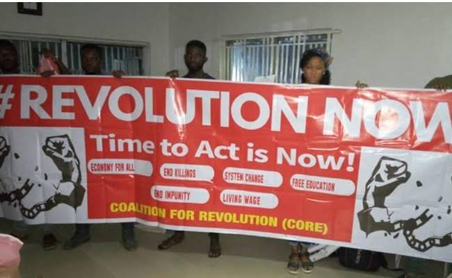 RevolutionNow Organisers Calls For Mass Protest On 1st October, Wants President Buhari To Resign 1