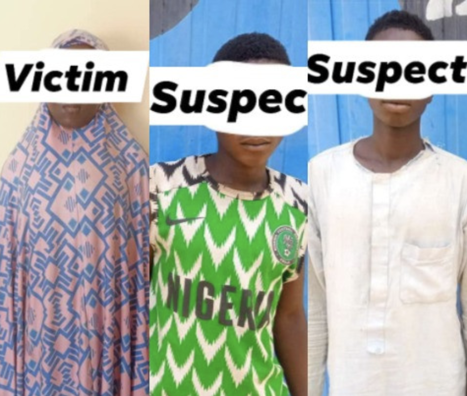 Two Friends Arrested For Allegedly Gang-Rαping 17-Year-Old Girl Inside Her Home In Jigawa 1