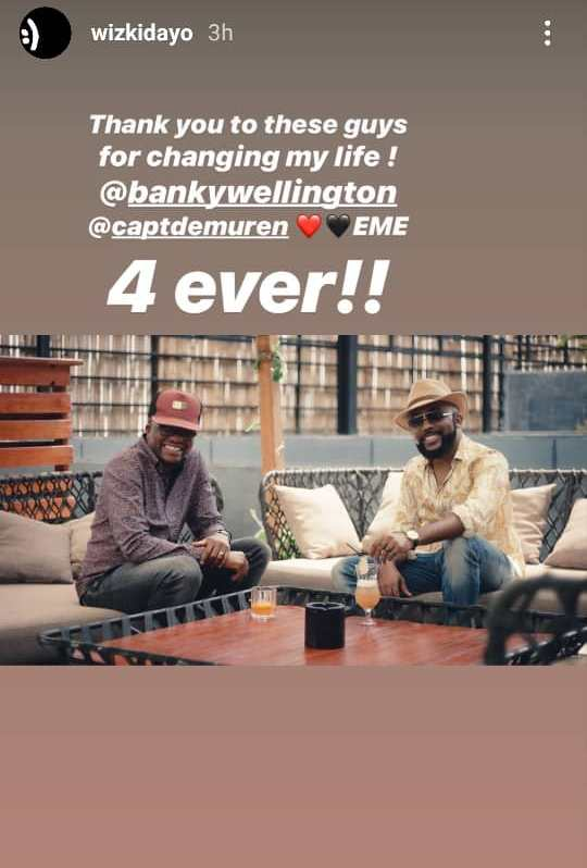 Wizkid Thanks Banky W And Tunde Demuren For Changing His Life 2
