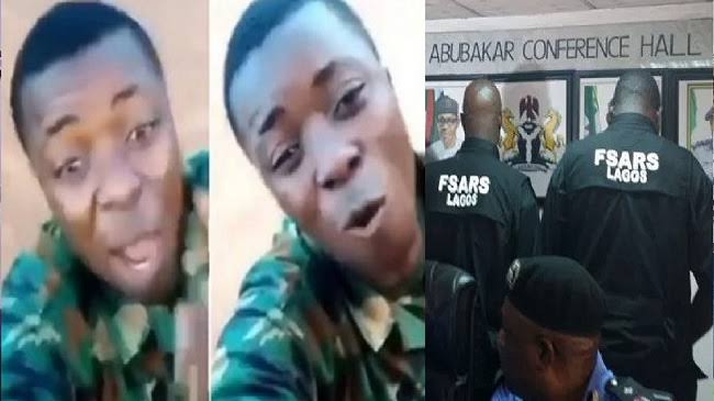 """""""You Will Be In Trouble The Day You Kill A Yahoo Soldier"""" - Nigerian Soldier Warns SARS [Video] 1"""