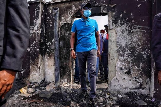 3 days of rage in Lagos: Sanwo-Olu assesses damage