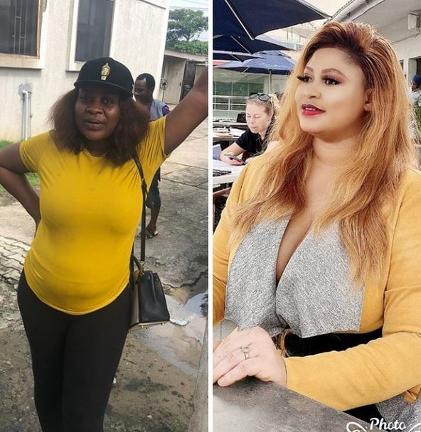 Actress Joke Jigan Drags Troll Who Called Her Out After She Shared Before And Now Photos