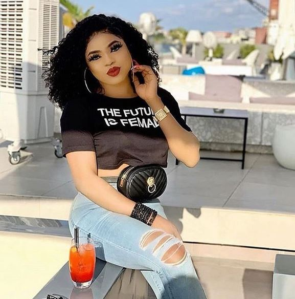 Bobrisky Narrates How His Name Saved Thugs From Vandalizing His Car