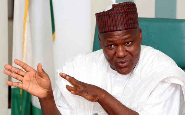 BREAKING: Gunshots Rent The Air As Hoodlums Loot Ex-Speaker Dogara's House In Jos