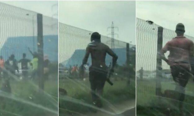 Breaking: Mile 12 boils, hoodlums vandalise BRT buses, loot shops