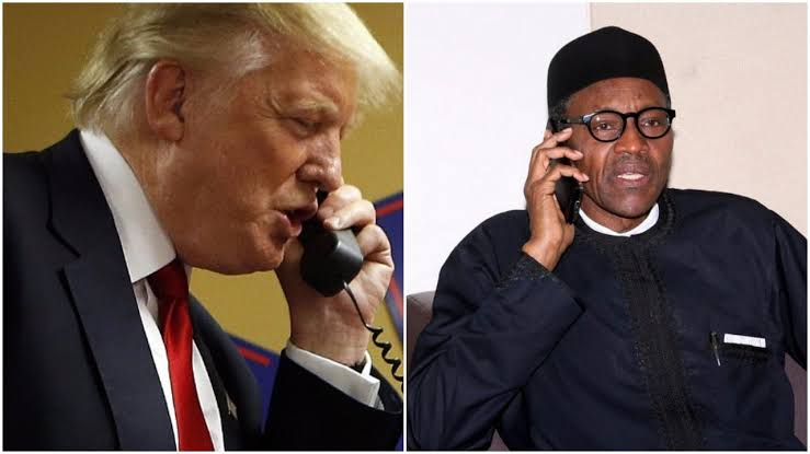 Buhari Wishes Donald Trump, Wife Ouick Recovery After They Tested Positive For Coronavirus 1