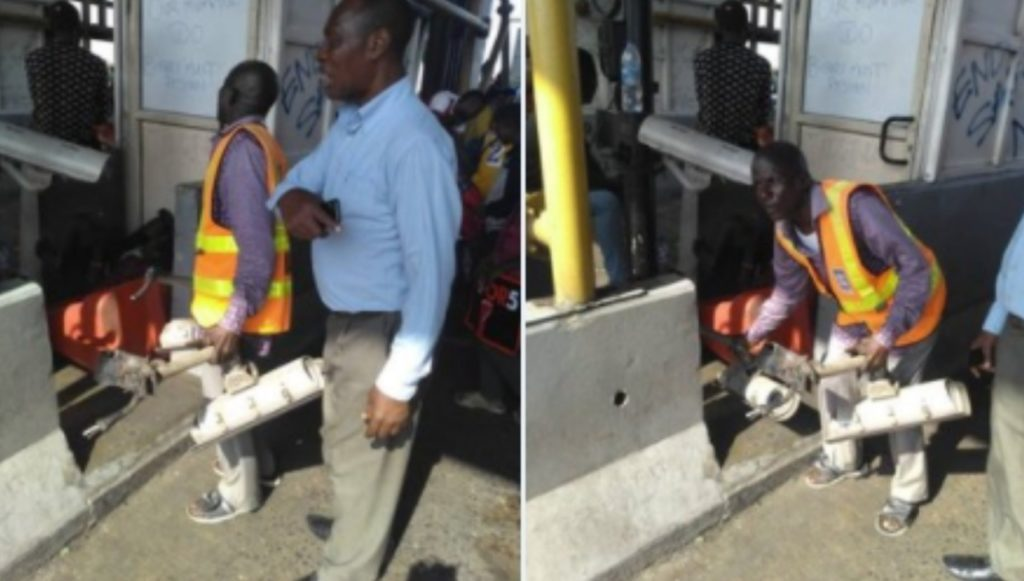 LCC officials accused of removing cameras at the Lekki toll gate