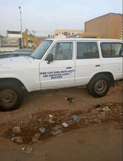 Car Belonging To Benue State Govt Agency Reportedly Put Up For Sale In Kano