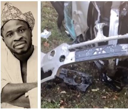 Comedian Craze Clown Escapes Death After Surviving Ghastly Car Accident (video)