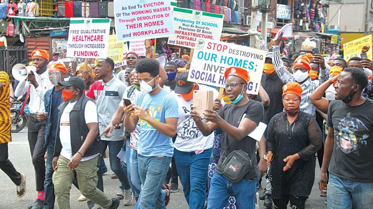 Revolution' protests rock Abuja, Lagos — Nigeria — The Guardian Nigeria News – Nigeria and World News
