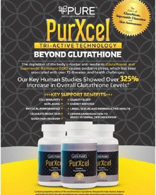 Do Something Good For Your Health, Get Your Own Bottle Of Purxcel
