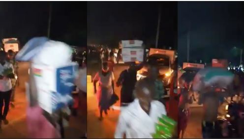 Drama As Taraba Residents Invade, Loot COVID-19 Warehouse (Videos)