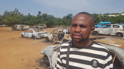 #ENDSARS: Abuja Car Dealers Recount Sad Ordeal, Say Thugs In Police Vehicles Attacked Them