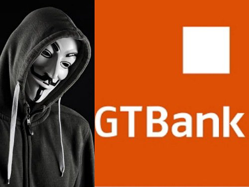 #EndSARS: Anonymous reportedly hacks GTBank, credits N5,000 to current account users 1